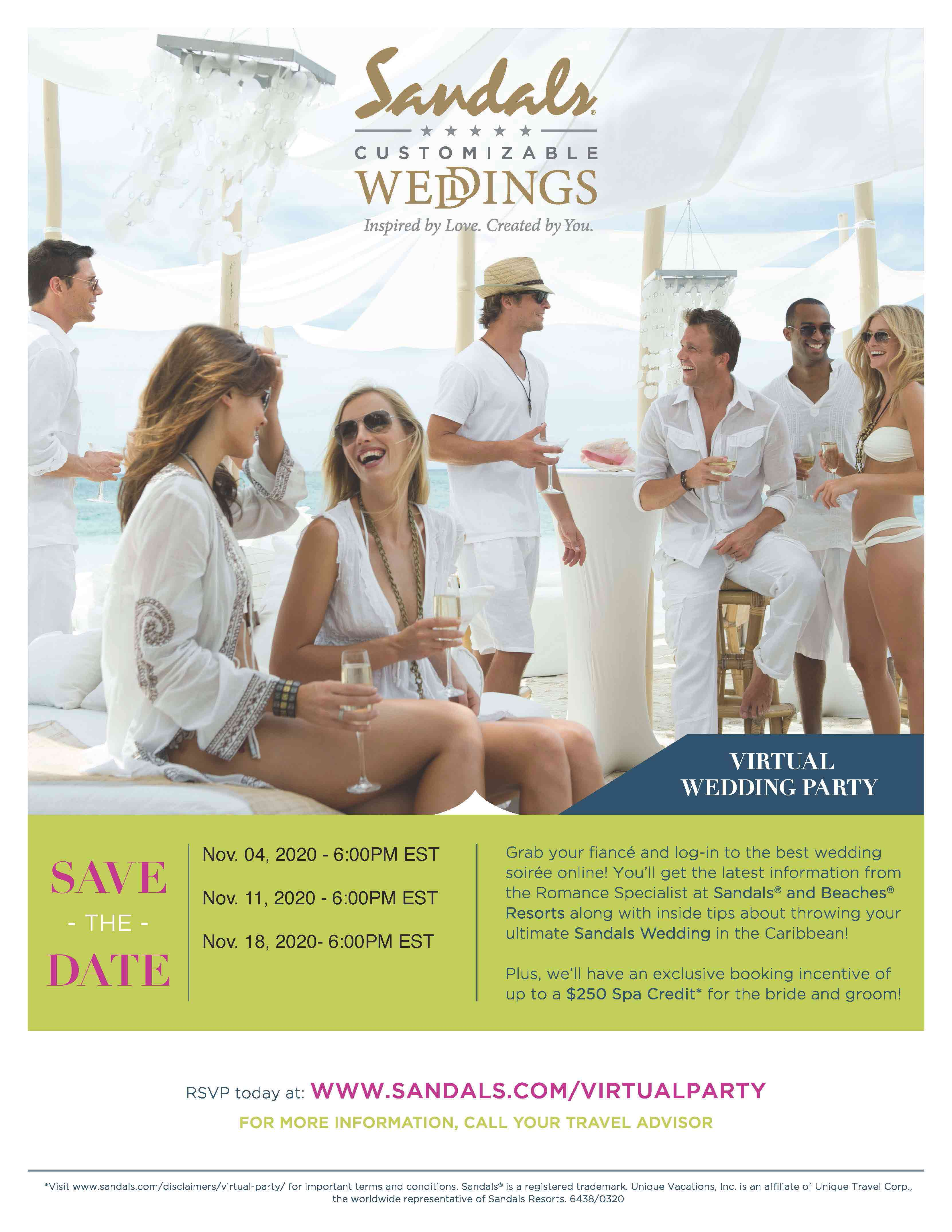 Virtual Wedding Moons Parties
